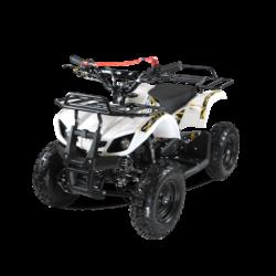 Квадроцикл детский бензиновый MOTAX ATV Х-16 Мини-Гризли белый (механический стартер, задний привод, до 45 км/ч)